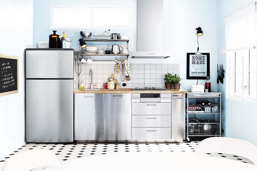 Ikea's Metod kitchen range is customisable right down to the hinges, doors and frames.
