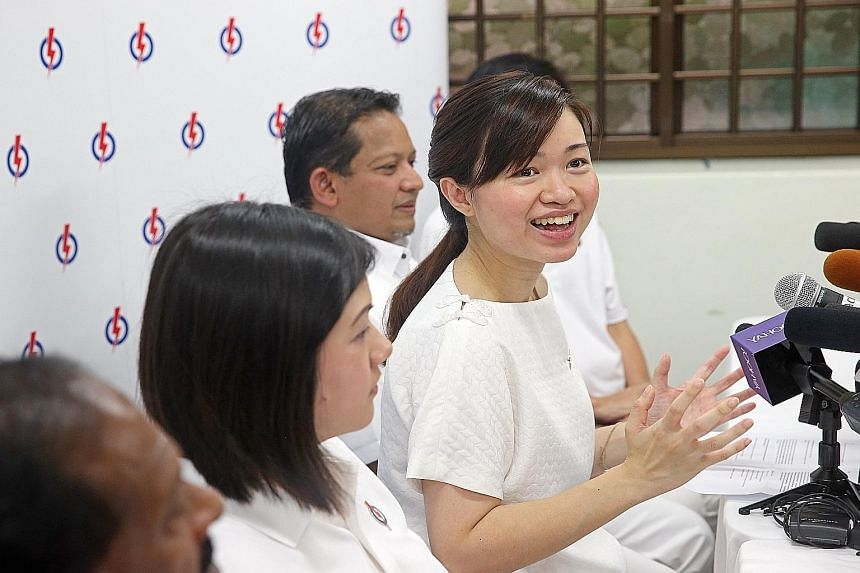 Given the maturity of this year's new PAP candidates, MP Tin Pei Ling is once again the party's youngest politician.