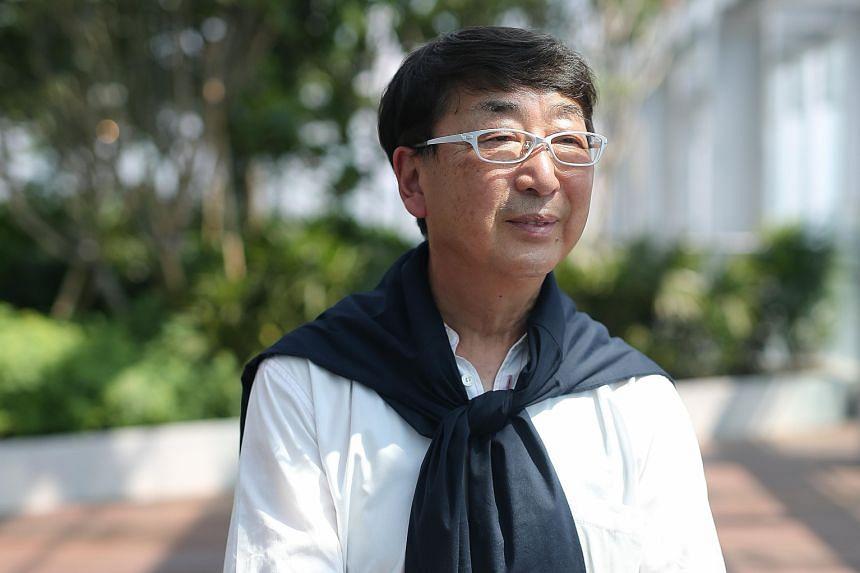 Pritzker Prize laureate Toyo Ito.