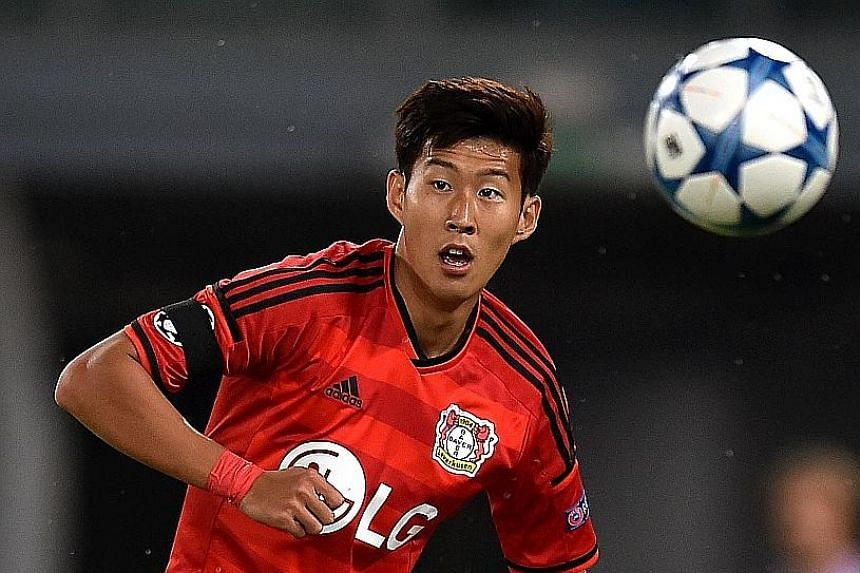 Son Heung Min, the South Korean striker who has 29 goals in 87 appearances for Leverkusen, says bold and daring is his style.