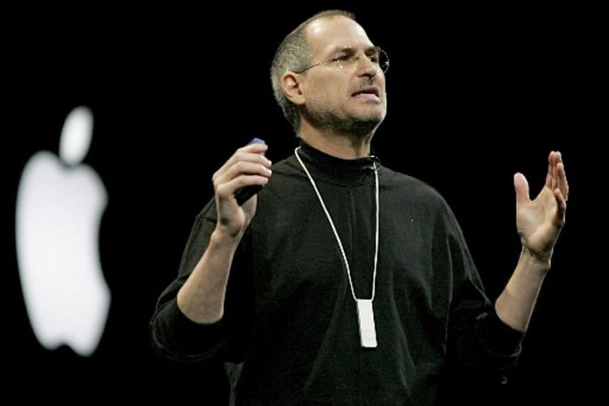 Apple chief Steve Jobs in 2005.