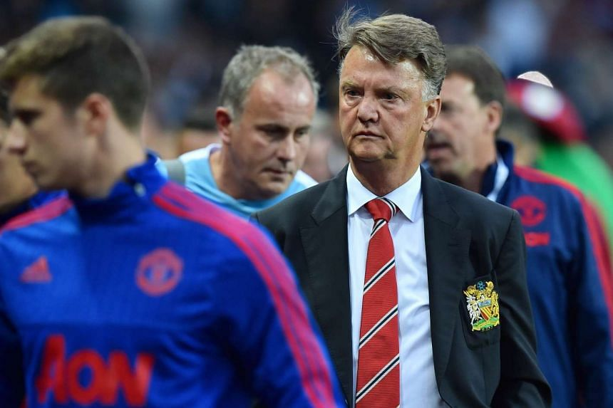 The Champions League draw could be worse and it could be better, says Van Gaal (above).