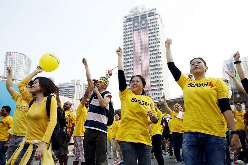 The Bersih 4 rally in Kuching, capital of the Malaysian state of Sarawak, was officially cancelled on Aug 30, 2015.