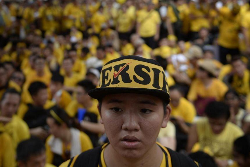 The Bersih 4 rally on Aug 29, 2015.