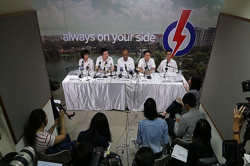 """During candidate introductions these past few weeks, PAP ministers have repeatedly called for voters to give them a """"strong mandate"""" as an acknowledgement of the PAP's past efforts and approval of its current and future direction towards an """"inclusiv"""