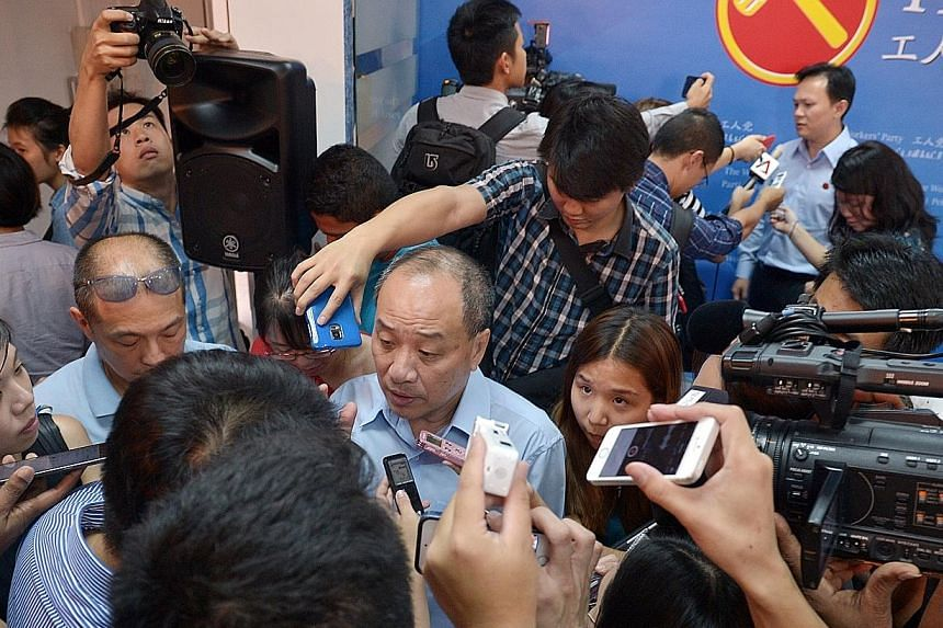 """Workers' Party chief Low Thia Khiang's goal is to entrench the opposition for """"a more balanced Parliament""""."""