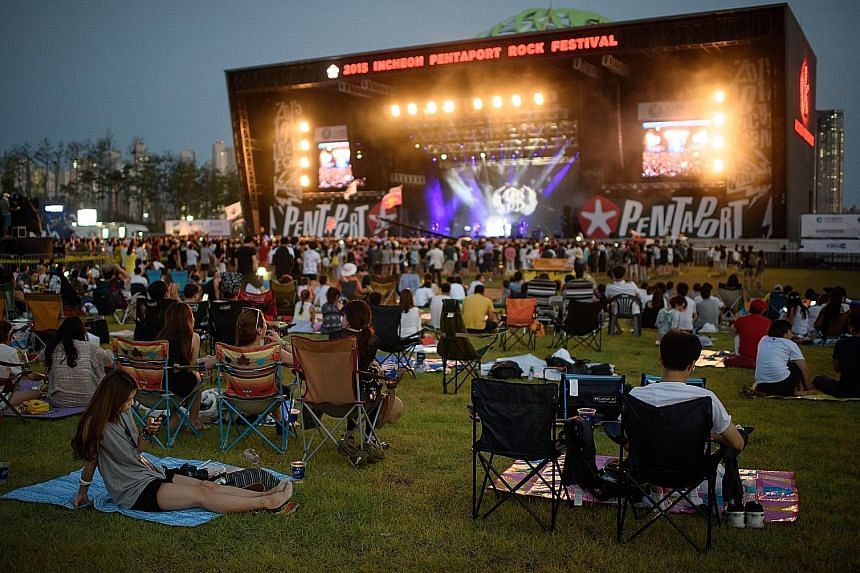 Gig Life Asia founder Priya Dewan's (above) favourite music festival in South Korea is the Pentaport Rock Festival (left), which takes place in early August every year.