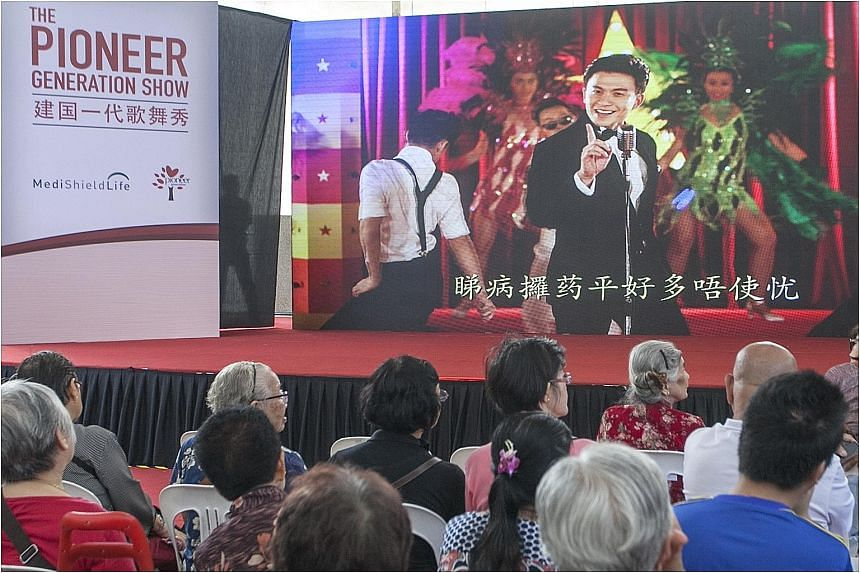 Getai-style videos were launched to help the elderly understand MediShield Life. The Pioneer Generation will get subsidies between 40 and 60 per cent, depending on age.