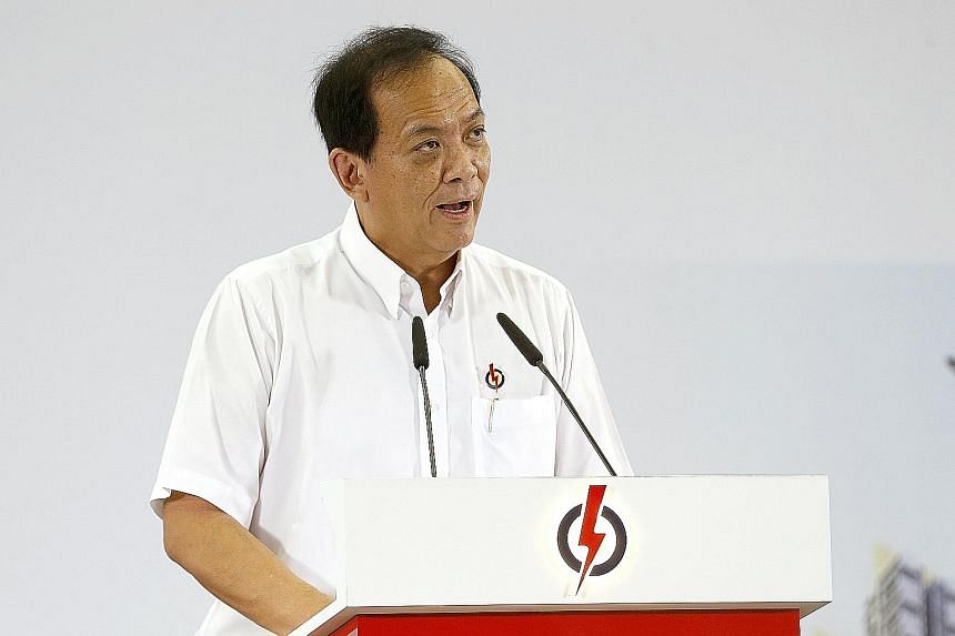 The general election is an opportunity for voters to express their views on the performance of not just the Government but also the opposition, says Mr Charles Chong.