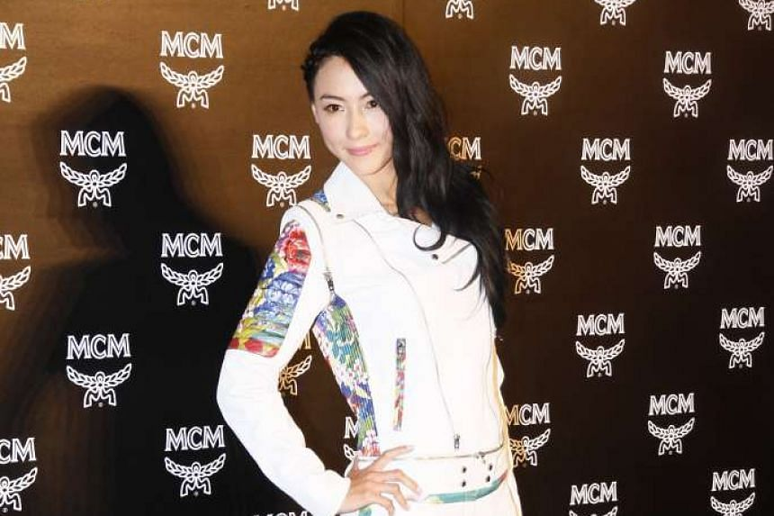 The manager of Cecilia Cheung (pictured) said that the Hong Kong actress has given her blessings to former husband Nicholas Tse to marry his girlfriend Faye Wong.