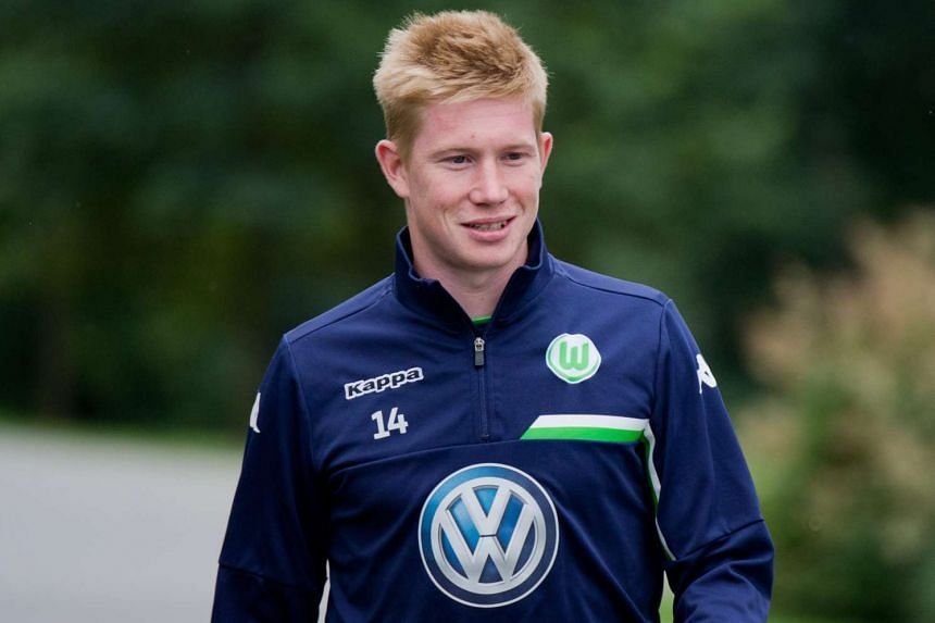 English Premier League giants Manchester City have signed Belgian playmaker Kevin de Bruyne from German team Wolfsburg for a club record in the region of £54 million (S$117 million), according to British media reports.