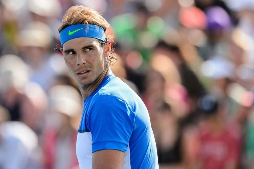 Nadal has won titles this season at Hamburg, Stuttgart and Buenos Aires, but his record is 42-14 and he has slipped to eighth seed for the US Open.
