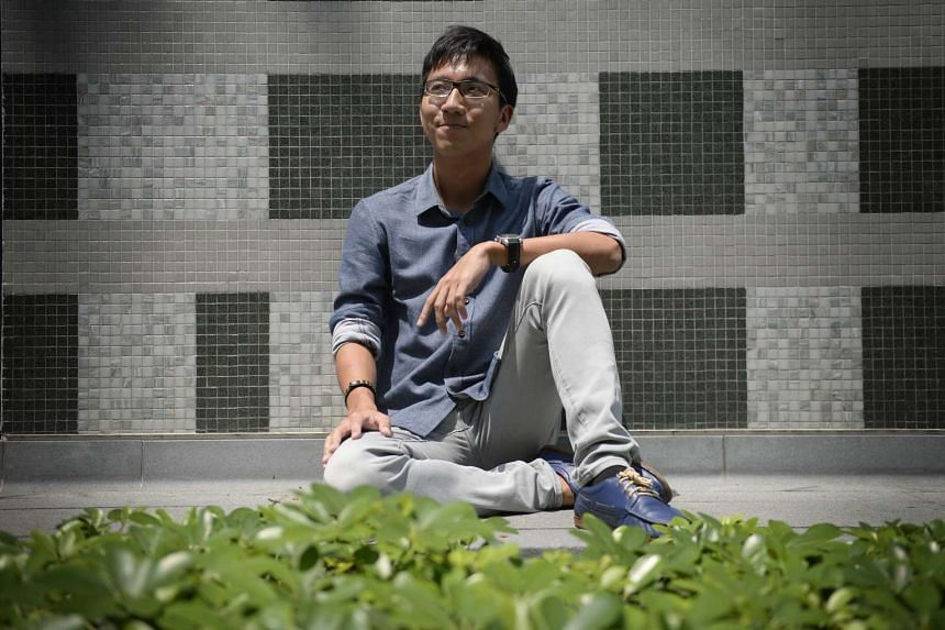 Undergraduates Tan Yu Jun  and Benedict Chan (above), both 22, are among an estimated 245,500 youth aged 21-25, most of whom will be voting for the first time.