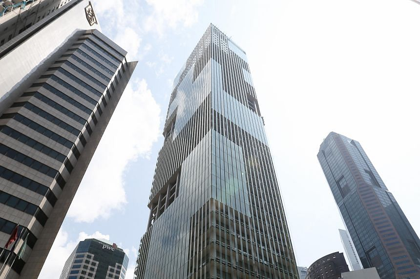 CapitaLand Commercial Trust is one of the top losers, falling 31 per cent to $1.34 at Friday's close.