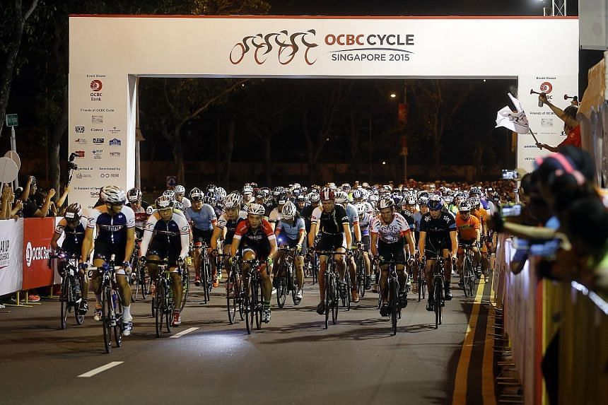 This year's OCBC Cycle, which included the 42km The Sportive Ride, boasted routes which were challenging enough to keep serious cyclists entertained. The community rides finished in the National Stadium.