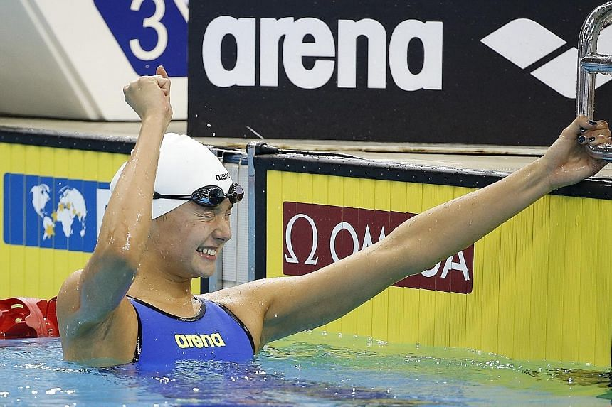 Turkey's Viktoria Gunes would have won a gold medal at the senior world championships in Kazan earlier this month with her time in the 200m breaststroke.