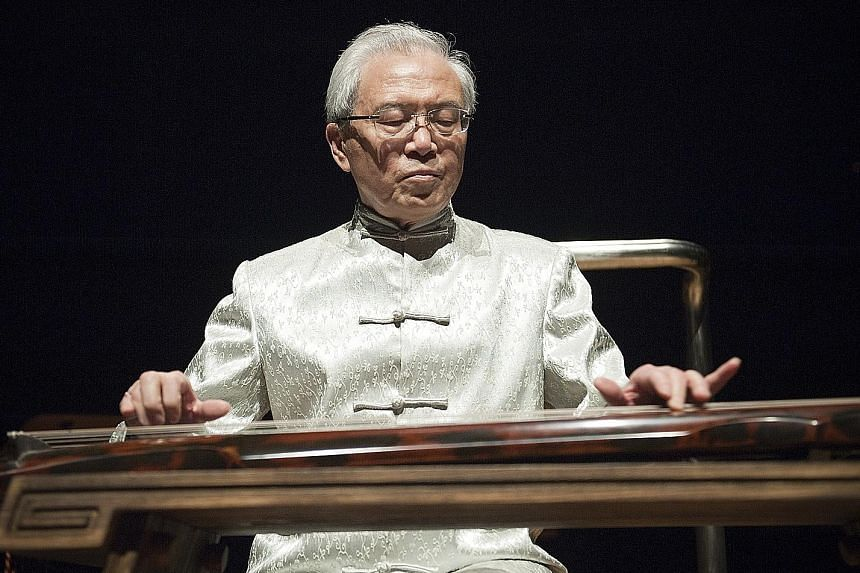 Chinese musician Gong Yi will play the guqin in a solo recital.