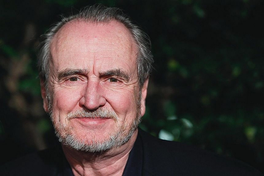Wes Craven (above) had been working on television shows, a graphic novel and a new film during the past three years.