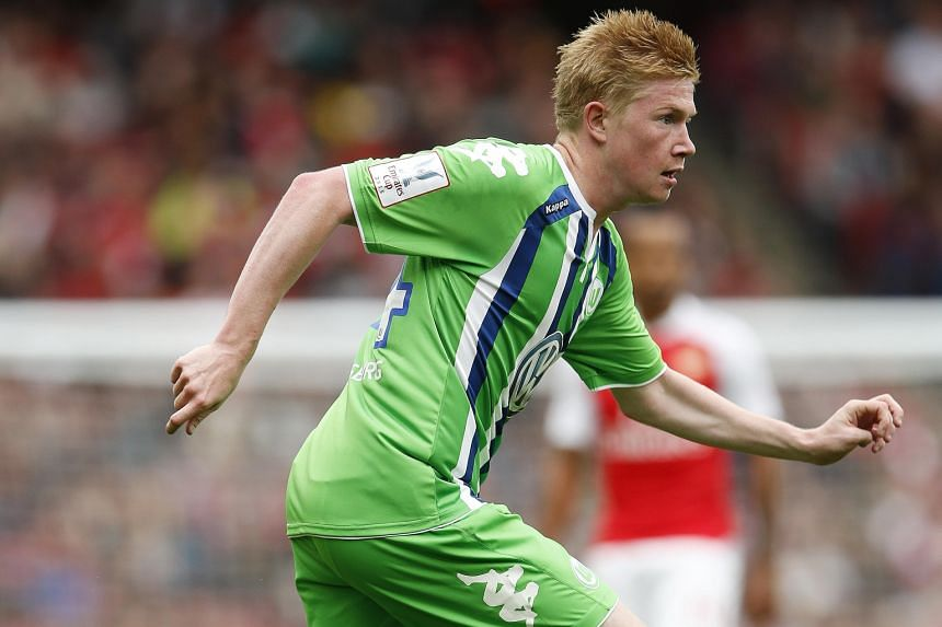 Kevin de Bruyne's stock has been rising in recent seasons after an outstanding stint at German Bundesliga side Wolfsburg, which saw him chalk up 20 goals and 33 assists from 72 matches in all competitions.