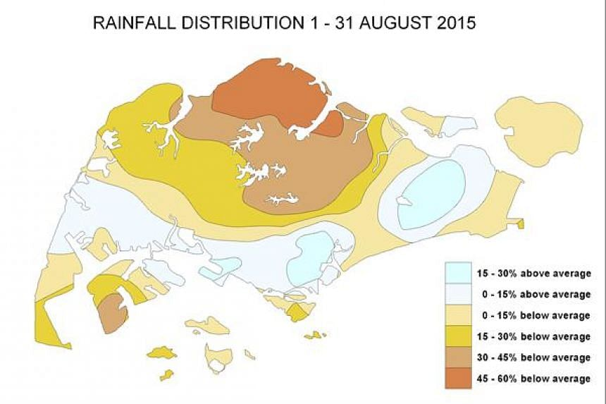 Rainfall for the first fortnight of September is expected to be below-normal.