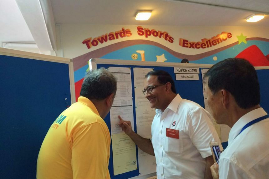 RP's Mr Kenneth Jeyaretnam (left) and PAP's Mr S. Iswaran.