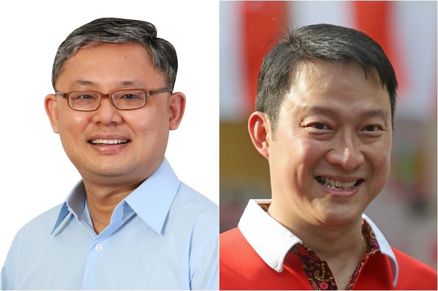 Mr Koh Choong Yong from the WP (left) and Mr Lam Pin Min from the PAP will be contesting Sengkang West SMC.
