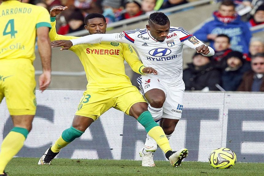 New Chelsea recruit Djilobodji (left) is an experienced defender who won 75 per cent of his aerial duels and made 256 clearances for Nantes.