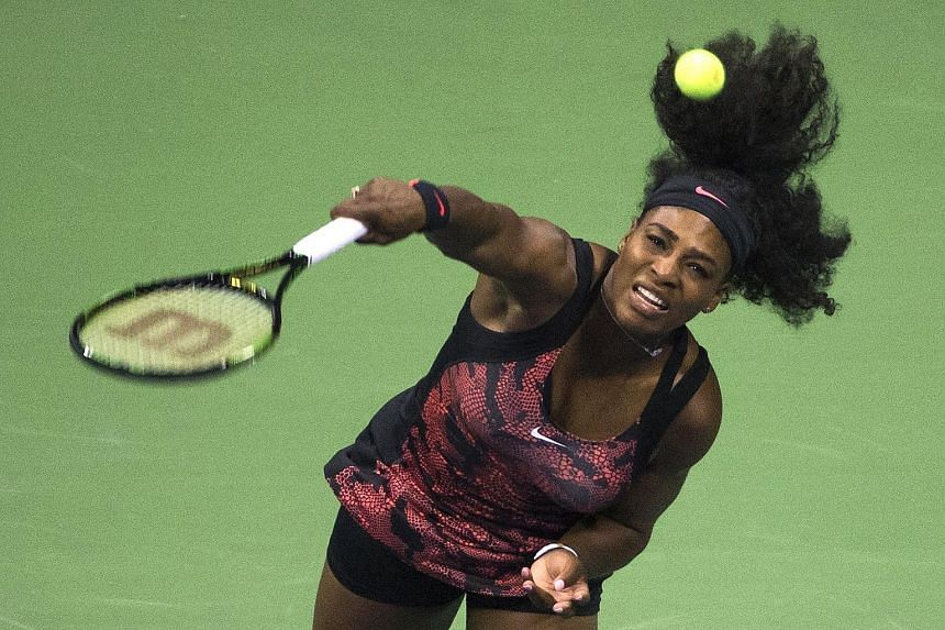 Serena Williams was hardly tested in the first round of the US Open as her opponent, Vitalia Diatchenko, was forced to retire in the second set because of injury.