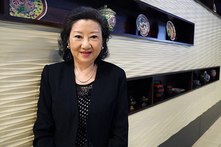 Prof Teng Su Ching has been a JP since 2005. She finds it rewarding to be able to help offenders better themselves.