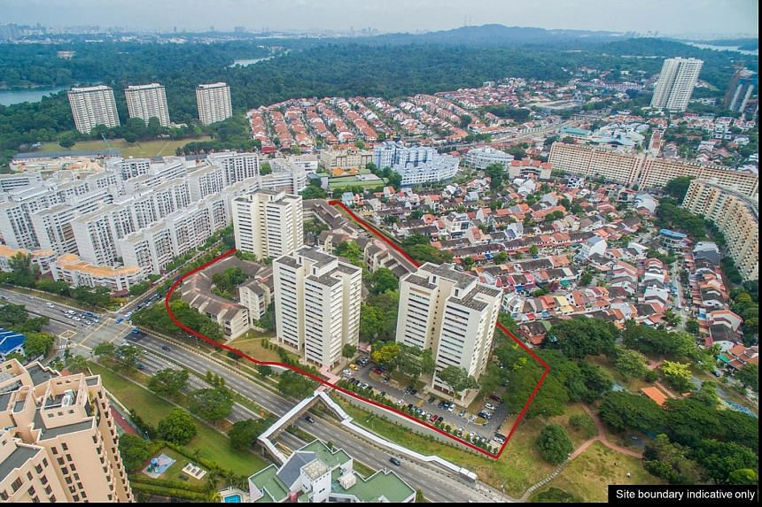 Shunfu Ville in Upper Thomson was built in the late 1980s by the former Housing & Urban Development Company and privatised in 2013.