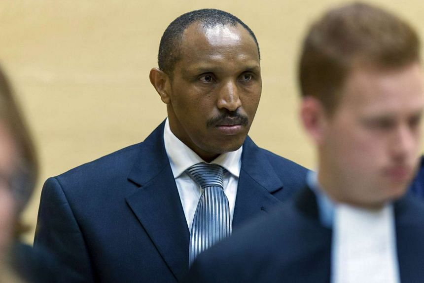 Congolese warlord Bosco Ntaganda sits in the courtroom of the International Criminal Court during the first day of his trial in the Hague, on September 2 this year.