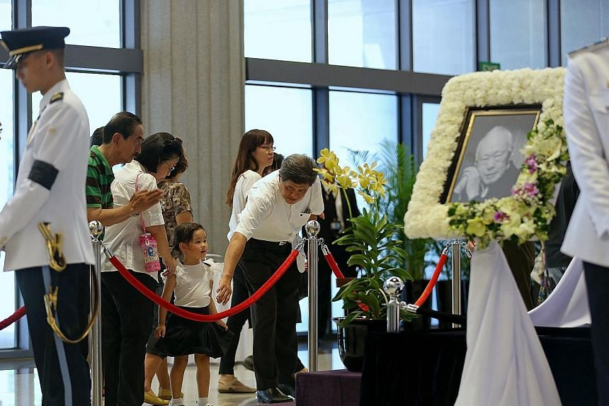 SPH combined a print and multimedia approach to cover founding Prime Minister Lee Kuan Yew's death and lying-in-state.