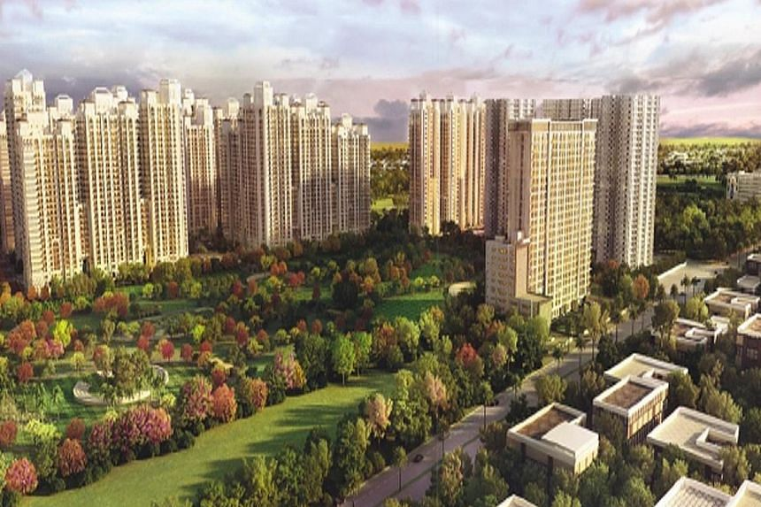 DLF Home Developers and GIC are in a joint venture to develop two property projects in New Delhi.