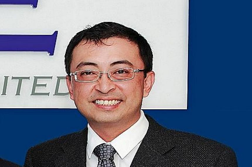 GKE Group has entered into a sale and leaseback of its headquarters cum warehouse, says chief executive Neo Cheow Hui (above).