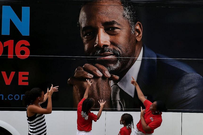 At the Republican debate on Aug 6, Dr Carson spoke of separating conjoined twins and removing half a brain as qualifications for the Oval Office.