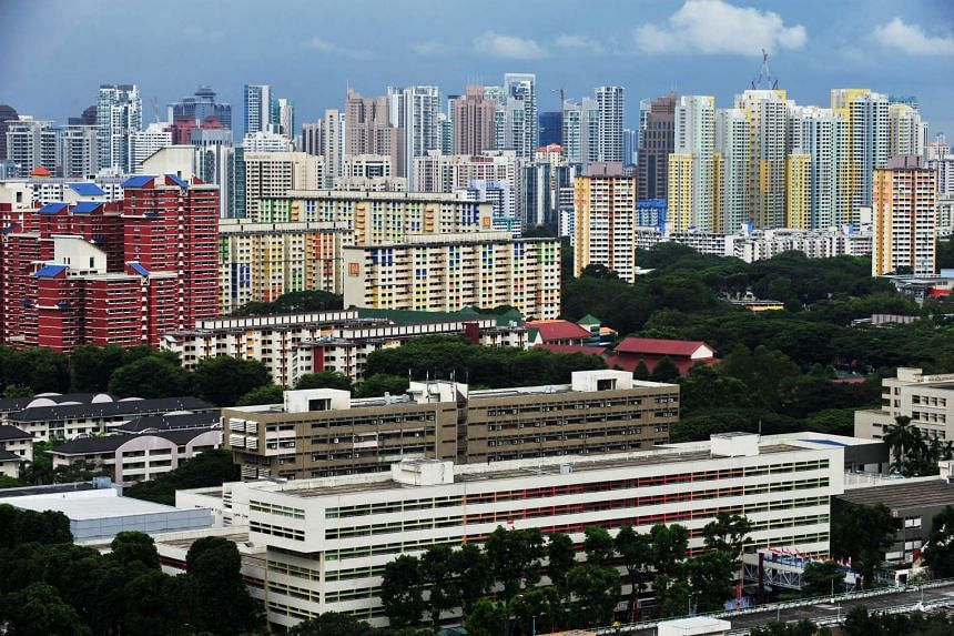 Resale prices for Housing Board flats rose slightly in August, inching up 0.3 per cent from July to August.