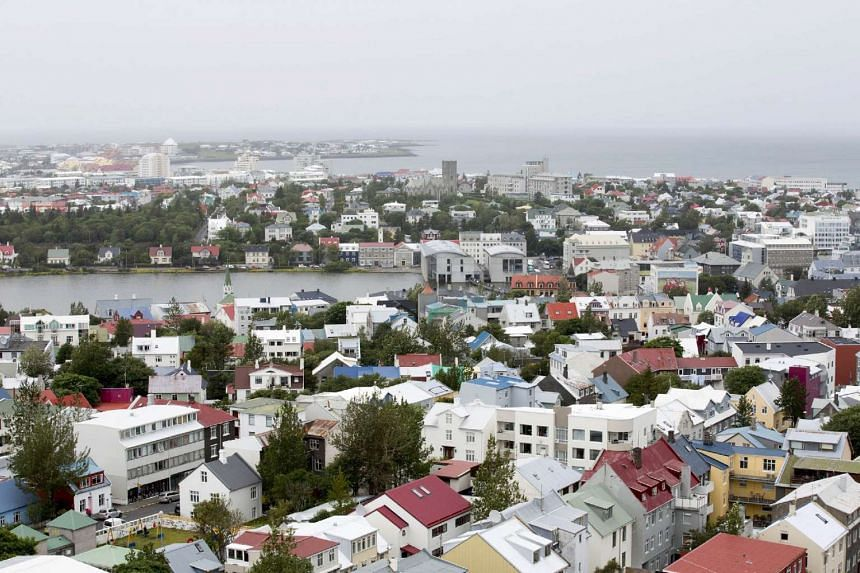 Reykjavik, Iceland. Thousands of Iceland's residents have taken to social media to put pressure on their government to take in more migrants.