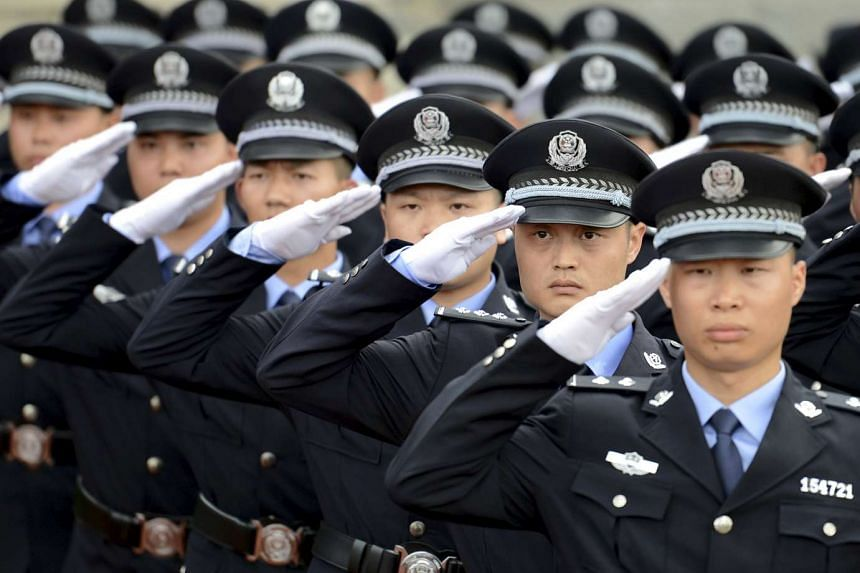 China will be deploying riot police during a World Cup qualifying match between China and Hong Kong on Thursday, Sept 3, 2015.