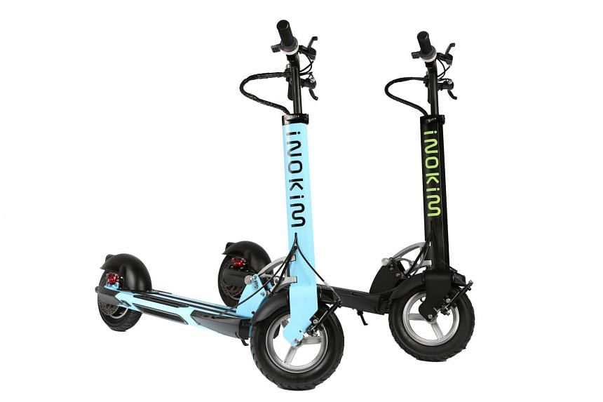 You can also take the new Inokim Quick 2 electric scooters (above) for a spin.