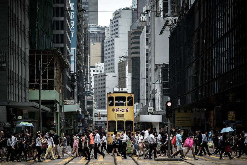 "Known as ""ding-dings"" because of the sound of their bells, trams have served the northern coastline of Hong Kong island, including the financial district, for more than 110 years."