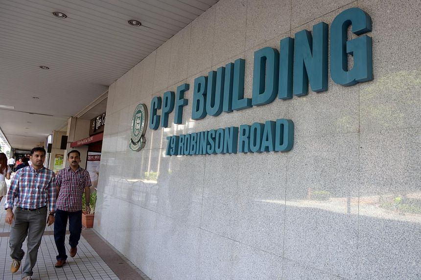 The CPF Building at 79 Robinson Road.