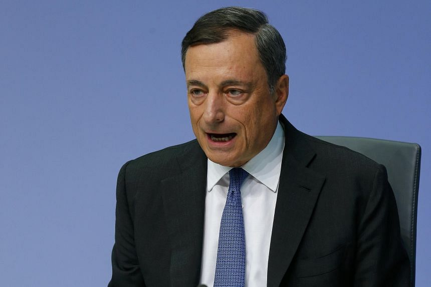 ECB president Mario Draghi says developments in emerging markets can further affect global growth adversely via trade and confidence effects.