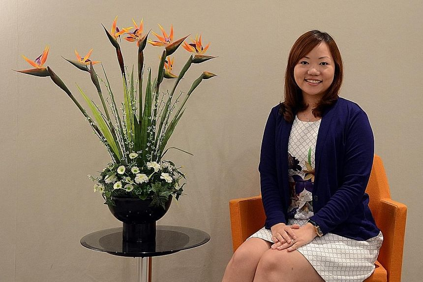 OCBC consumer loan operations manager Jasmine Li built a successful career in banking even though she started out with a diploma in electronics.