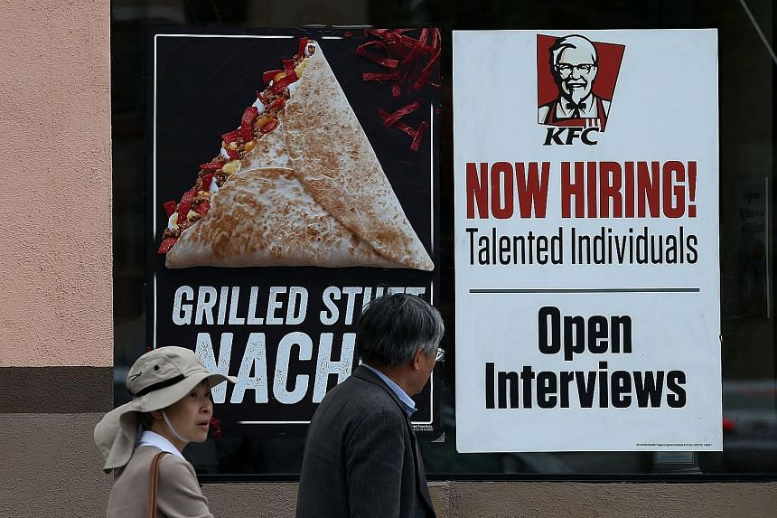 The US unemployment rate dropped to a near 7-1/2- year low of 5.1 per cent.