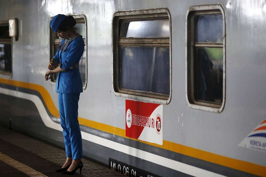 The train was initially intended to be the first instalment of a 763-km rail link connecting Indonesia's two biggest cities, Jakarta and Surabaya.