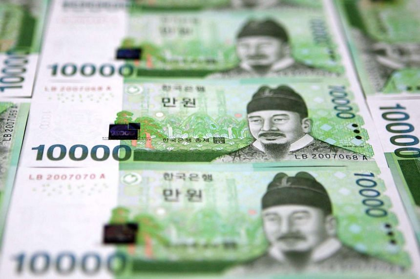South Korea's government has cut next year's economic growth forecast from 3.5 per cent to 3.3 per cent.