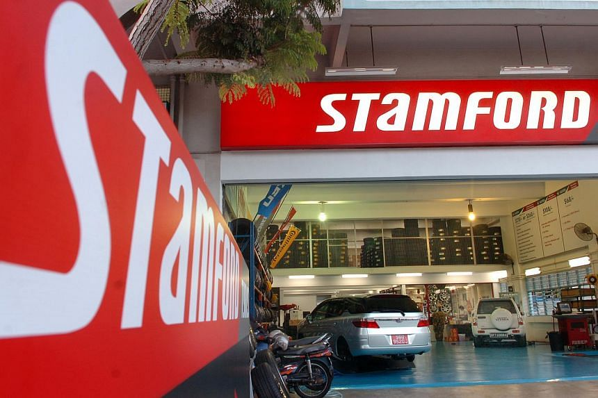 Stamford Tyres attributed the weaker revenue to weaker sales in certain products and parkets.