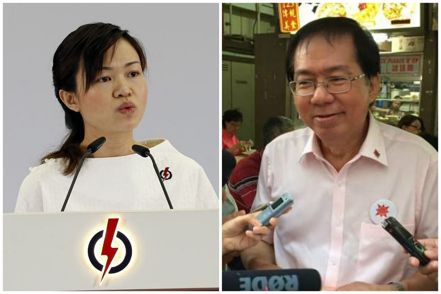 PAP candidate Tin Pei Ling (left) has refuted MacPherson rival Cheo Chai Chen's comments that her new role as a mother is a weakness.
