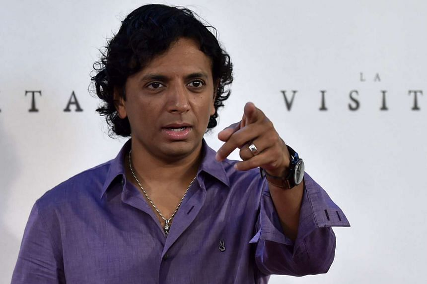 Indian-American film director Night Shyamalan poses during the photocall of his movie The Visit in Madrid on Sept 2, 2015.