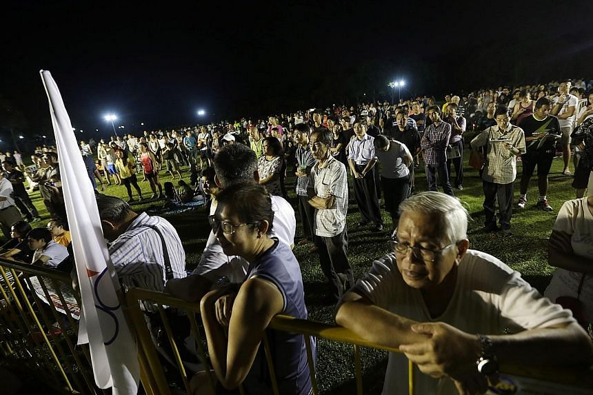 The Singapore Democratic Alliance's rally for Pasir Ris-Punggol GRC was held at Pasir Ris Park yesterday.